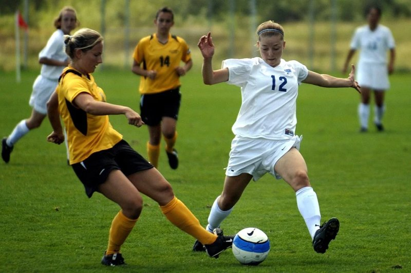 Exercise through playing coordinated and challenging sports helps improve mental fitness.
